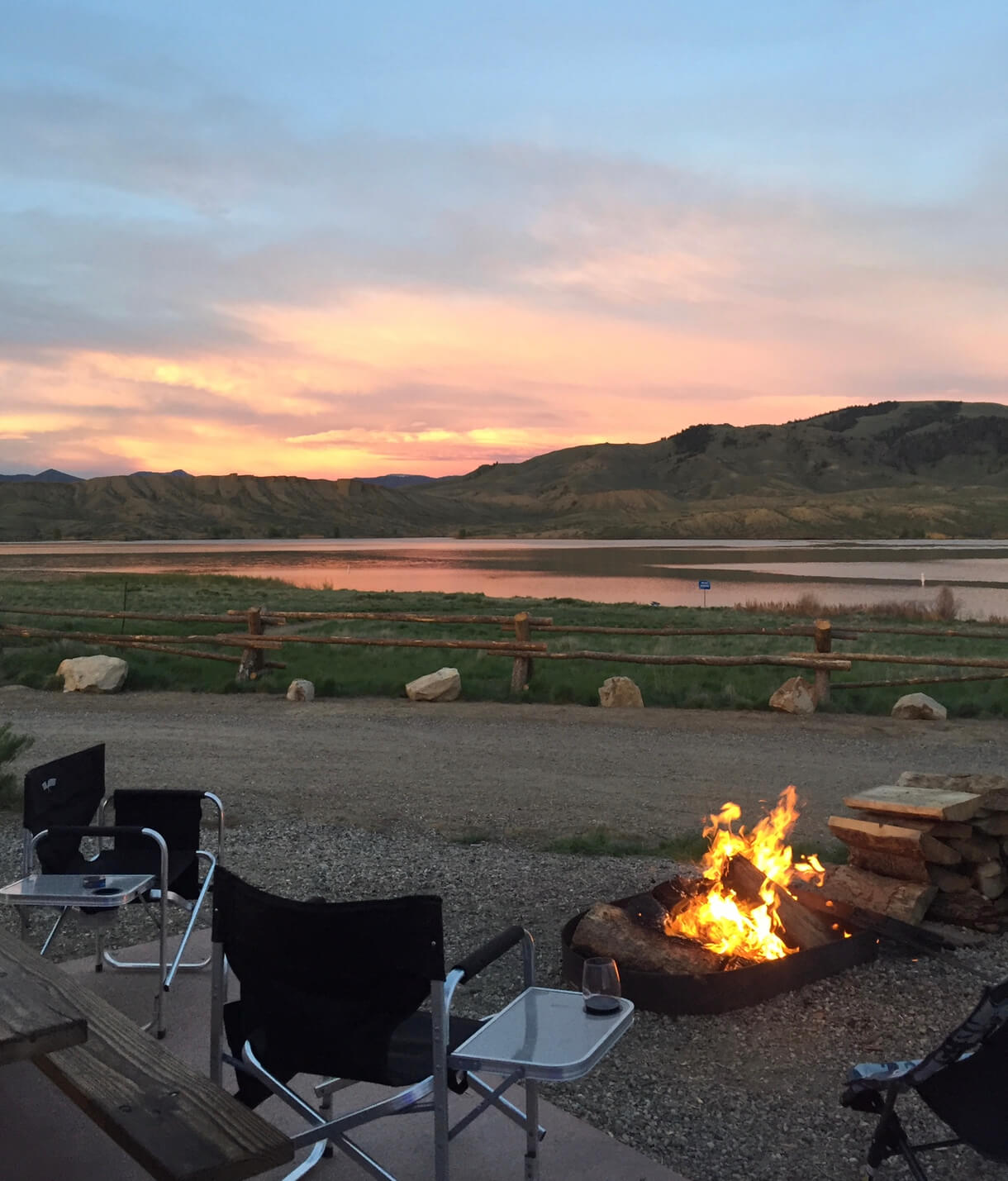 Camping at Wolford Campground & Marina - Kremmling, CO